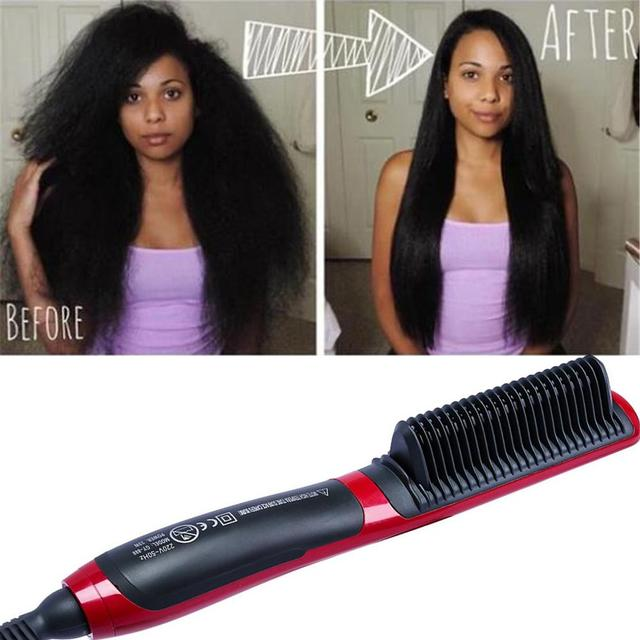 Electric Straightener Hot Comb Hair Care Machine 1