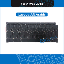 New A1932 Keyboard AR Arabic Layout Big Enter key For Macbook Air 13.3″ A1932 Keyboard Replacement Late 2018 MRE82