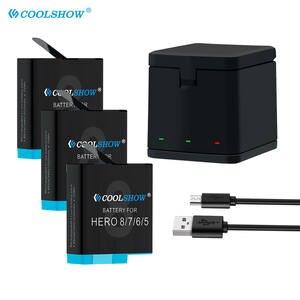 Battery Camera-Accessories Gopro Hero Black Li-Ion Charger AHDBT-801 1220mah for 8/Hero/7-hero/..