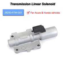1 Pcs 28250-P7W-003 Transmission Linear Solenoid Fits for Acura & Honda vehicles high quality 28260 rpc 004 transmission dual linear solenoid for honda civic fit 07 08