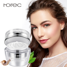 ROREC Hydra Facial Cream Moisturizing Nourishing Snail Face Soothing Skin Tone Up Vitamins Complex Repair Care