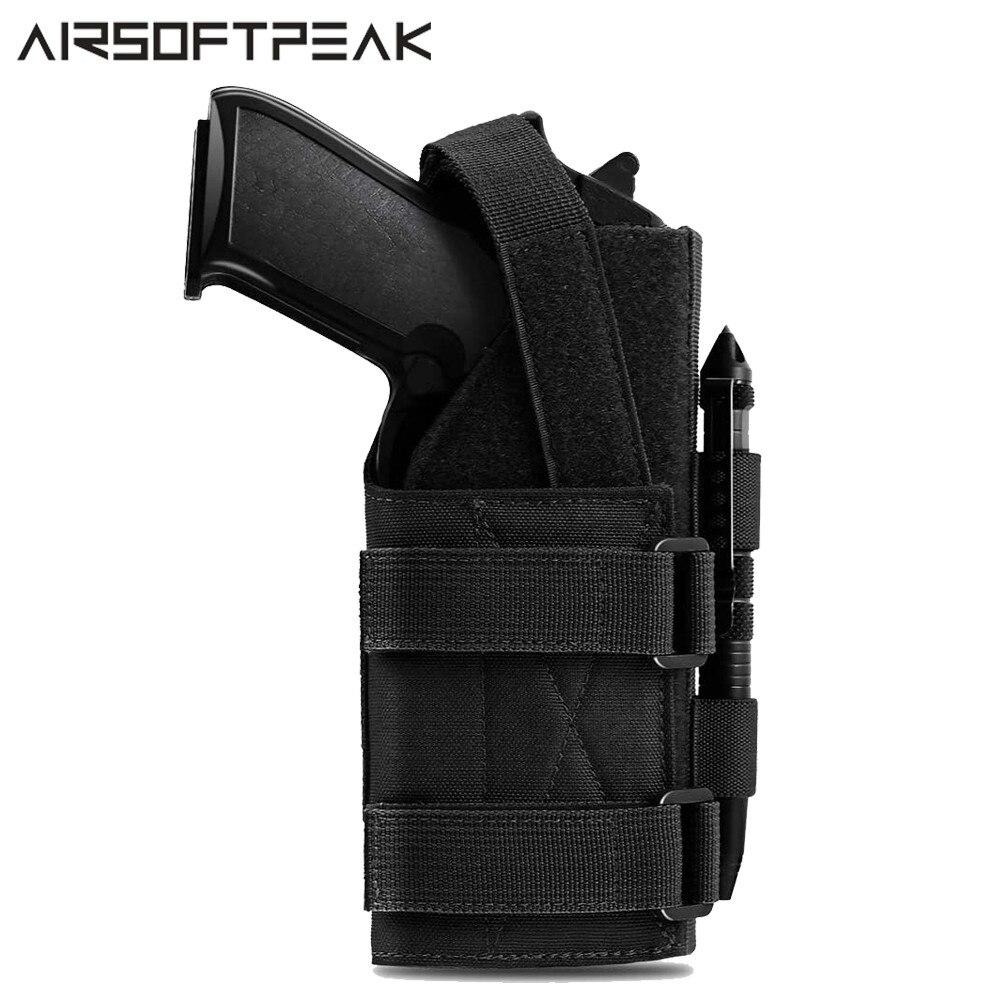 1000D тактическая кобура для ружья с системой «Молле» для стрелков правой руки, кобура для пистолета, кобура для пистолета, Беретта, револьвер...