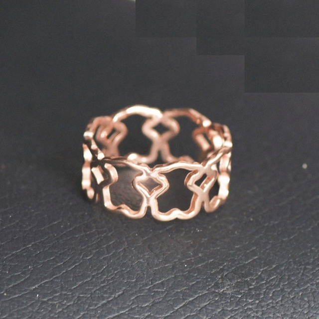 Unadjustable Finger Ring Stainless Steel 3
