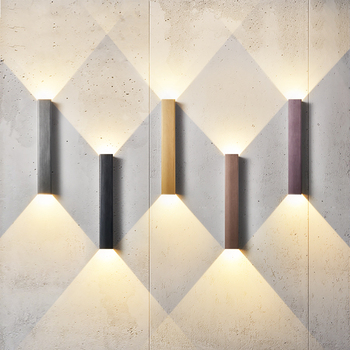 Modern LED Wall lamps Indoor Background Light Corridor Aisle Bedroom Bedside Wall Light Lighting Decoration Sconce modern linear led wall sconce light aisle corner hallway