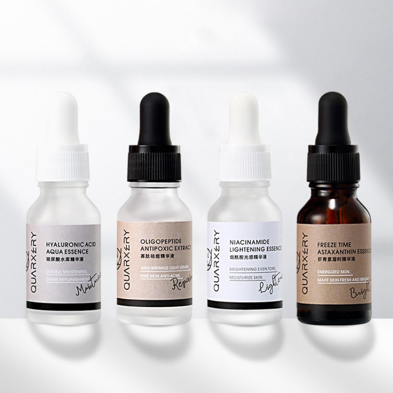 15ml Niacinamide Essence Shrink Pore Facial Serum Lasting Firming Skin Repair Pores To Blackheads Nourishing Skin Care