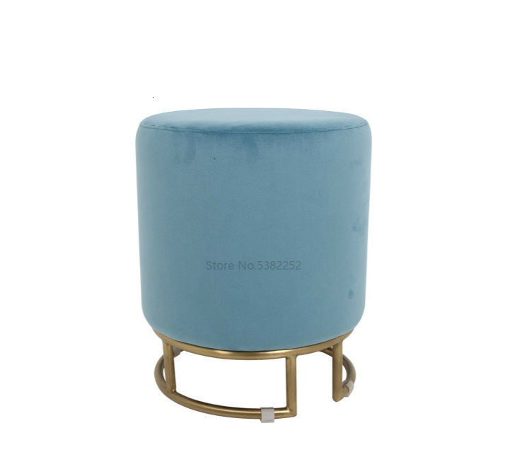 Concise Flannelette Low Bar Stool Design Exquisite Modern Leisure Time Chair Can Bar Chair
