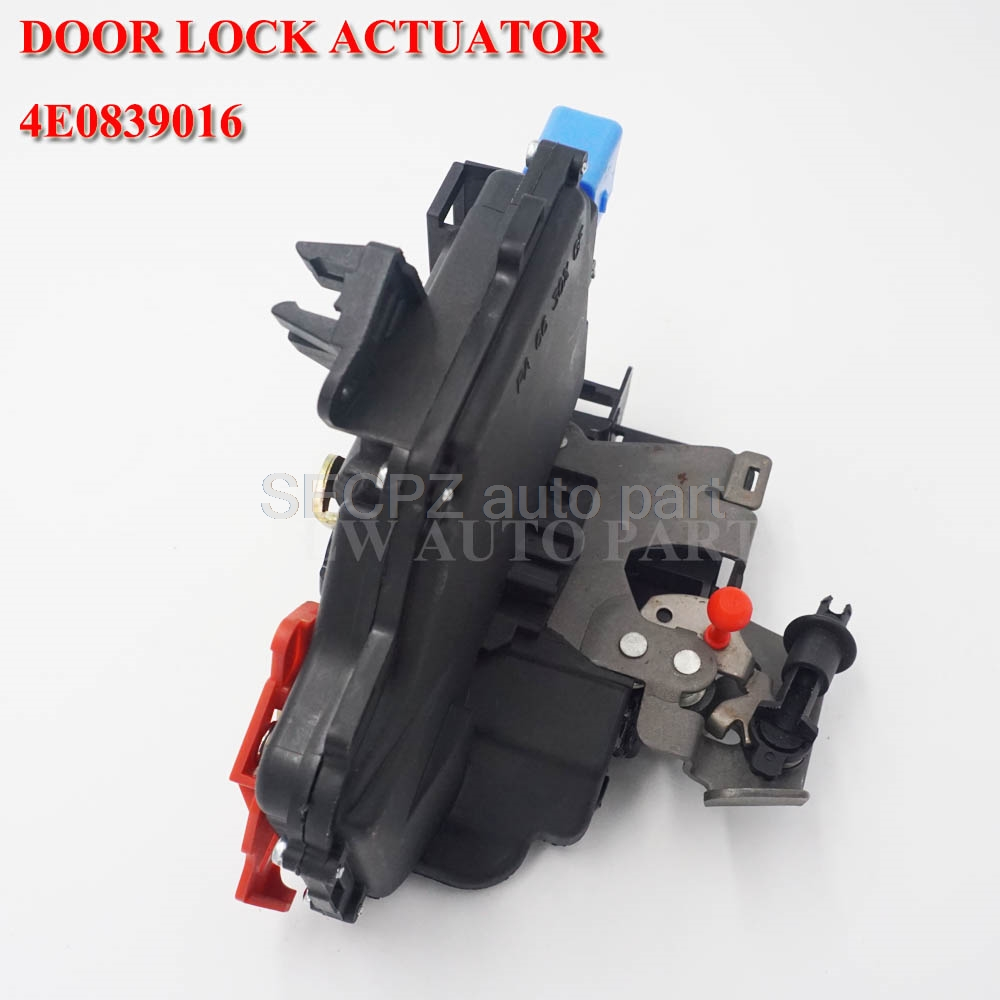 4E0839016 Rear Right Central Door Lock for <font><b>AUDI</b></font> A3 <font><b>A8</b></font> 04-07 4E0839016A image