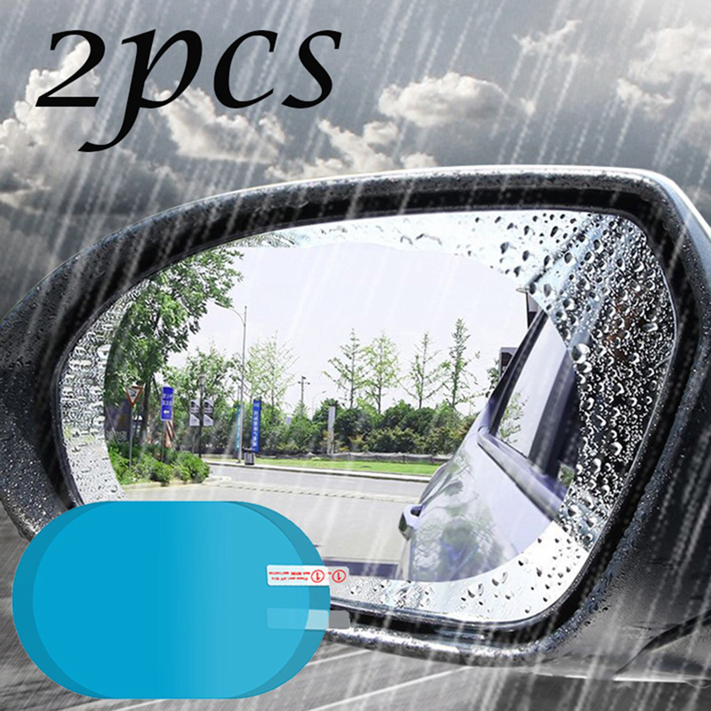 Автомобильная противотуманная пленка, влагостойкая зеркальная защитная пленка заднего вида для зеркала в ванной