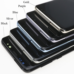 Image 5 - 100% מקורי סופר AMOLED S8 LCD עם מסגרת לסמסונג גלקסי S8 G950 G950F תצוגת S8 בתוספת G955 G955F מגע מסך Digitizer