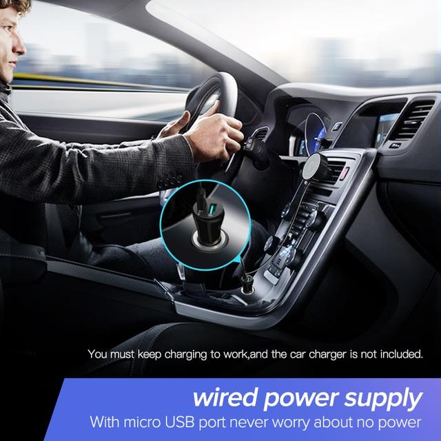 UGREEN Bluetooth 5.0 Car Kit Receiver aptX LL Wireless 3.5 AUX Adapter for Car Speaker USB Bluetooth 3.5mm Jack Audio Receiver 3