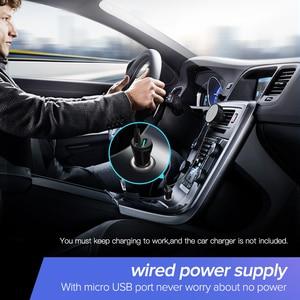 Image 3 - UGREEN Bluetooth 5.0 מקלט לרכב aptX LL אלחוטי 3.5 AUX מתאם לרכב רמקול USB Bluetooth 3.5mm שקע אודיו מקלט