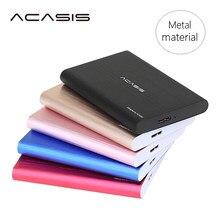 ACASIS-disco duro Externo USB3.0, dispositivos de almacenamiento de disco duro de alta velocidad de 2,5 pulgadas, HDD para ordenador portátil de escritorio