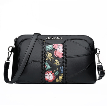 Women Flower Shoulder Bags Genuine Leather Bags Sheepskin Clutch Bag For Ladies Crossbody Bags Luxury Designer Female  Handbag ly shark women bag ladies genuine leather handbag shoulder female crossbody bags for women luxury handbags women bags designer
