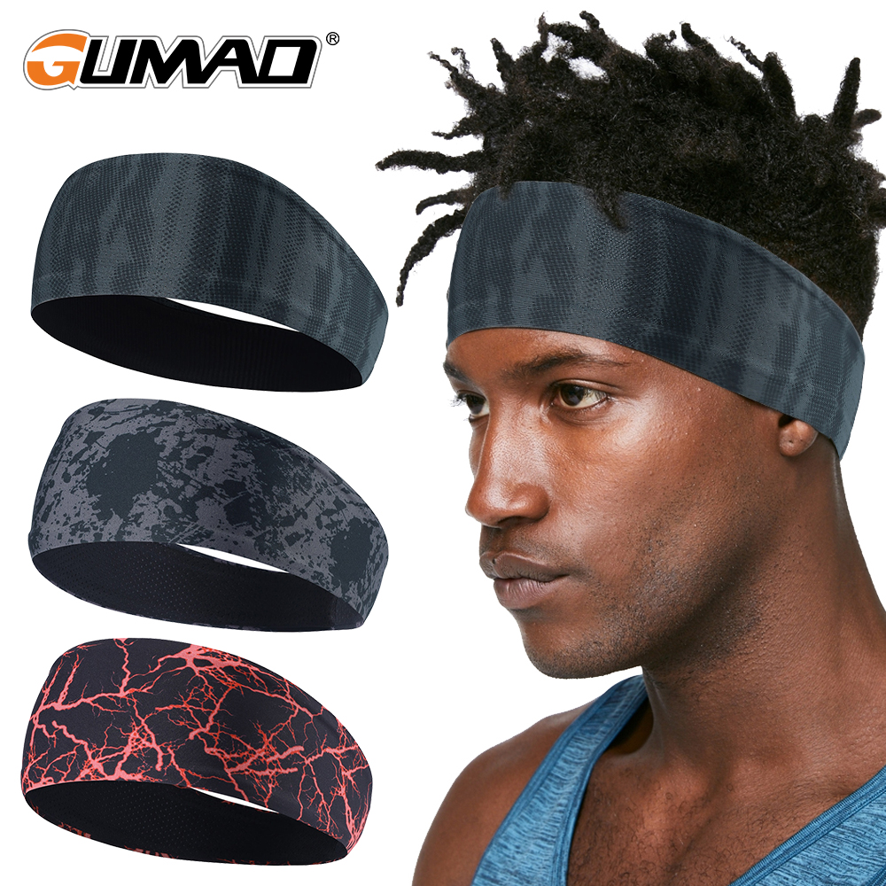 Bandana Fitness Running Cycling Sport Bike Biker Headbands Ladies Mens Headscarf