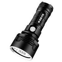Powerful LED Flashlight XHP50 Torch USB Rechargeable Waterproof Lamp Ultra Bright electric self defense laser pointer