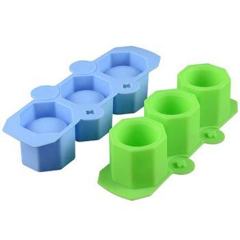 Silicone Mold Geometric Polygonal Concrete Flower Pot Vase Cup