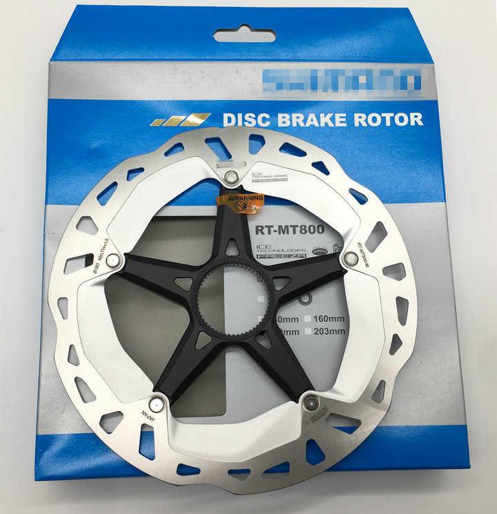 Disc brake 180mm centerlock XT RT-MT800 Ice Tech Freeza 2020 SHIMANO bike brake