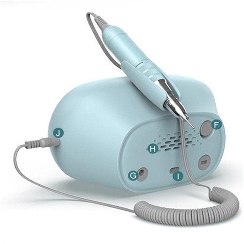 Купить 35000 об/мин электрическая дрель для ногтей профессиональная