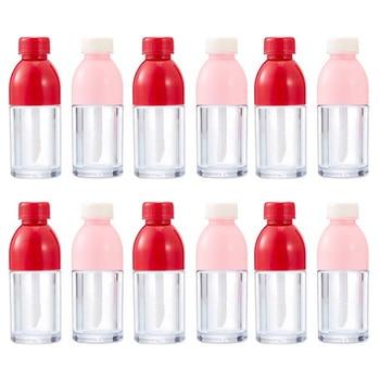 5PCS Fashion Lip Glaze Empty Bottle Cute Ice Cream Lip Glaze Empty Tube Shell Lipstick Filling Empty Bottle DIY Lip Glaze цена 2017