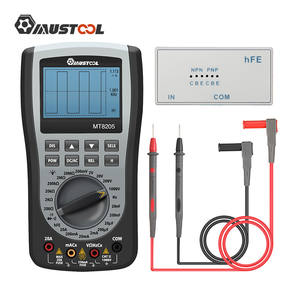 Resistance-Diode-Tester Oscilloscope Multimeter Digital MUSTOOL MT8205 2-In-1 Storage