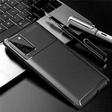 Carbon Fiber Case For Samsung Galaxy Note 20 Case Note 20 Ultra Cover Soft Phone Bumper For Samsung Galaxy Note 20 Ultra Funda