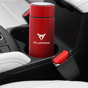 Image 5 - 500ml Portable Smart Thermos Mug With LED Temperature Display Thermos Cup For Bolero Salsa Tango Cupra only Cupra R Accessories