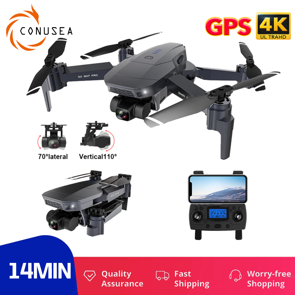 SG907 Pro /SG907 Quadcopter RC Drone 4K GPS Profissional 2 Axis Gimbal Drones with camera HD 5G WIFI FPV dron VS SG906 PRO 2|Camera Drones| - AliExpress