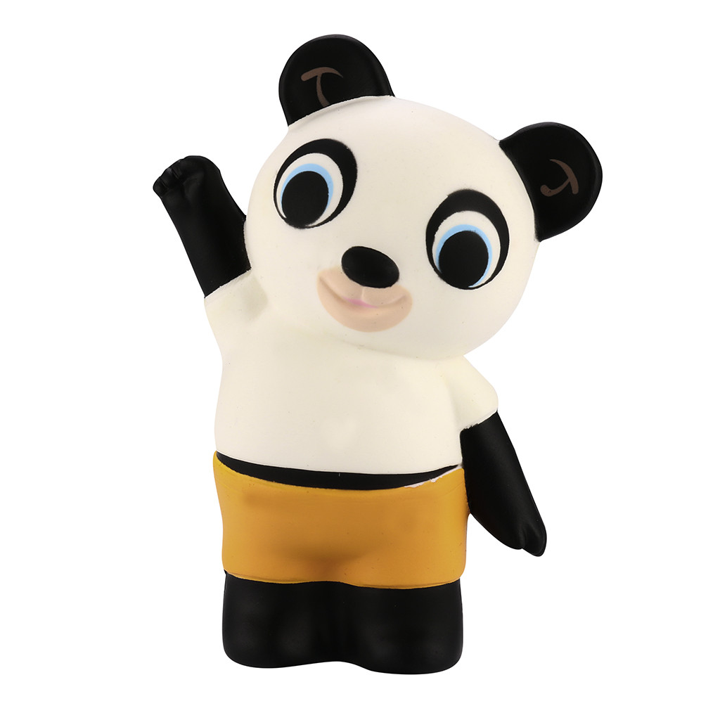 Cute Simulation Panda Squeeze To Play Stress Reliever Toy 5.1 Inches Kawaii Panda Slow Rising Scented Animal Toy L103