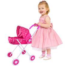 Детская кукла тележка детская коляска Младенческая тележка коляска детские игрушки для куклы аксессуары для девочек подарок для девочек игра