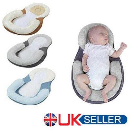 Nice!!Infant Newborn Baby Pillow Cushion Prevent Flat Head Sleep Nest  Anti Roll
