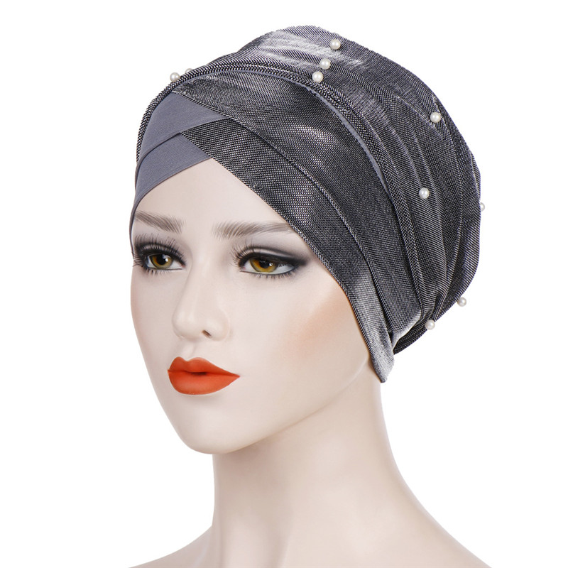 Muslim Headdress Turban Cap For Women Solid Cotton Inner Hijabs Bonnet Arab Wrap Head Hijab Underscarf Caps Islamic Turbantes