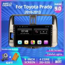 9'' IPS 2DIN Android 9.0 Car Multimedia Player Stereo Receiver For Toyota Land Cruiser Prado 150 2010-2013 Car Radio Navigation