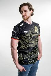 G2 Esports LOL Worlds Jersey Pro Player Uniform Team Jerseys Fans China Dragon Caps T-shirt
