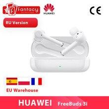 Huawei-auriculares inalámbricos FreeBuds 3i 3 i, versión Global, TWS, Bluetooth, cancelación activa de ruido, sistema de 3 micrófonos