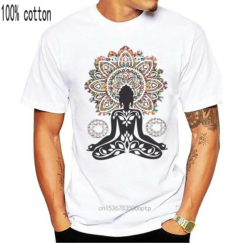Женская футболка Azteque yogaдрессировка верх Будда чакра медитация дзен Хобо Бохо мир футболка Базовая рубашка|Футболки| | АлиЭкспресс