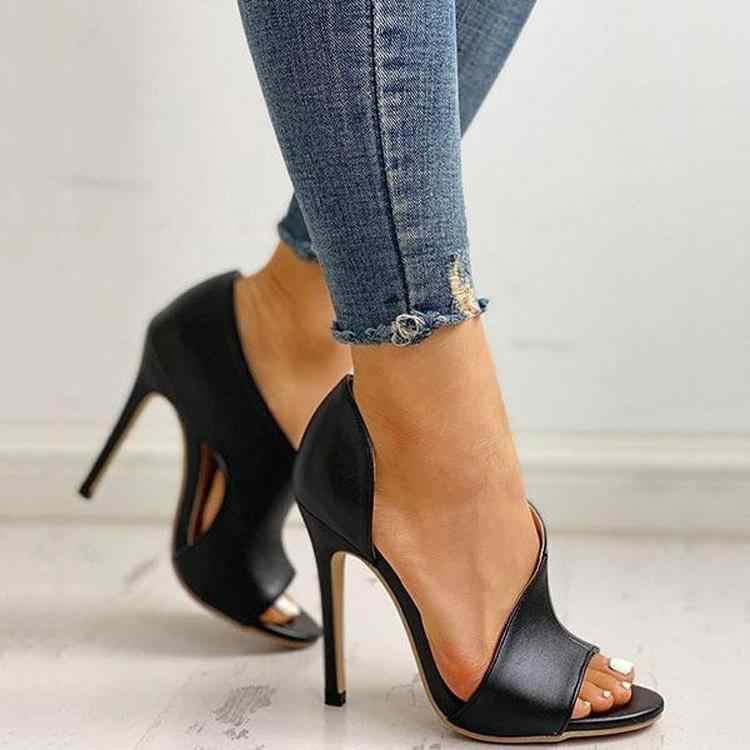 Sıcak kadın pompaları yeni ayakkabı seksi yüksek topuklu bayanlar parti Stiletto ve büyütücüler kadın gümüş düğün yılan baskı topuklu Zapatos ui