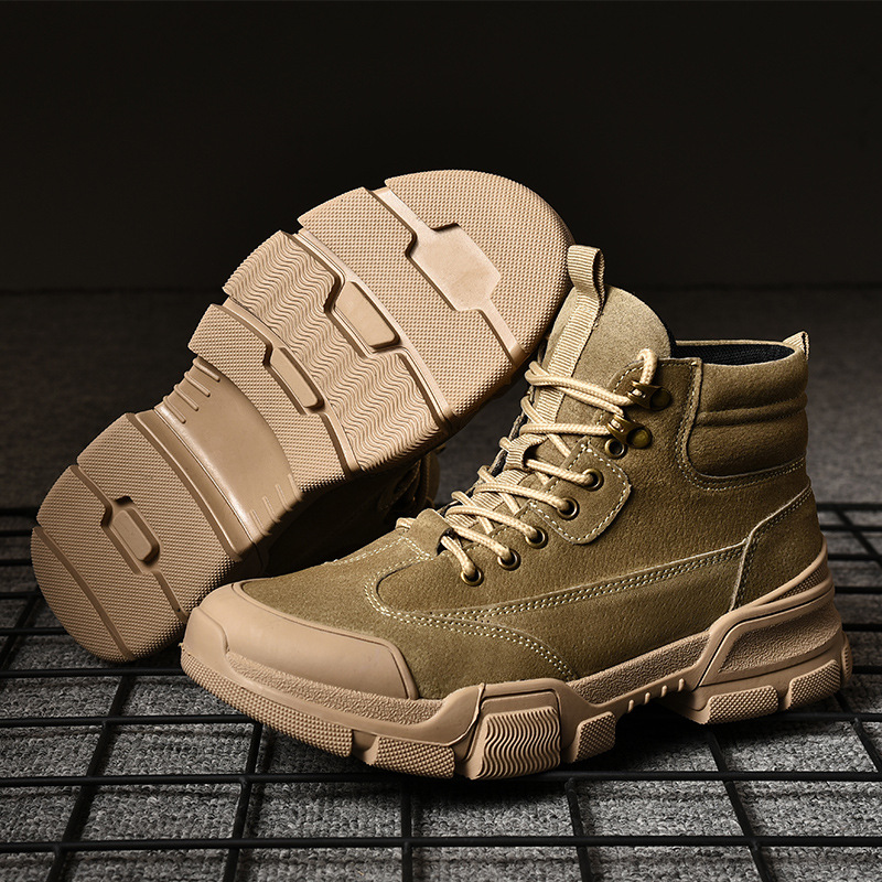 Boots Winter Military leather boots for men Combat <font><b>bot</b></font> Infantry tactical boots <font><b>askeri</b></font> <font><b>bot</b></font> army army shoes <font><b>erkek</b></font> ayakkab E18-98 image