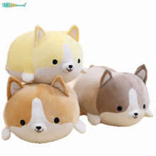 30-60cm Cute Shiba Inu Dog Plush Toys Soft Stuffed Animal Dolls Corgi Chai baby Sleep Playmate Pillow for Kids Girl Xmas Gift(China)