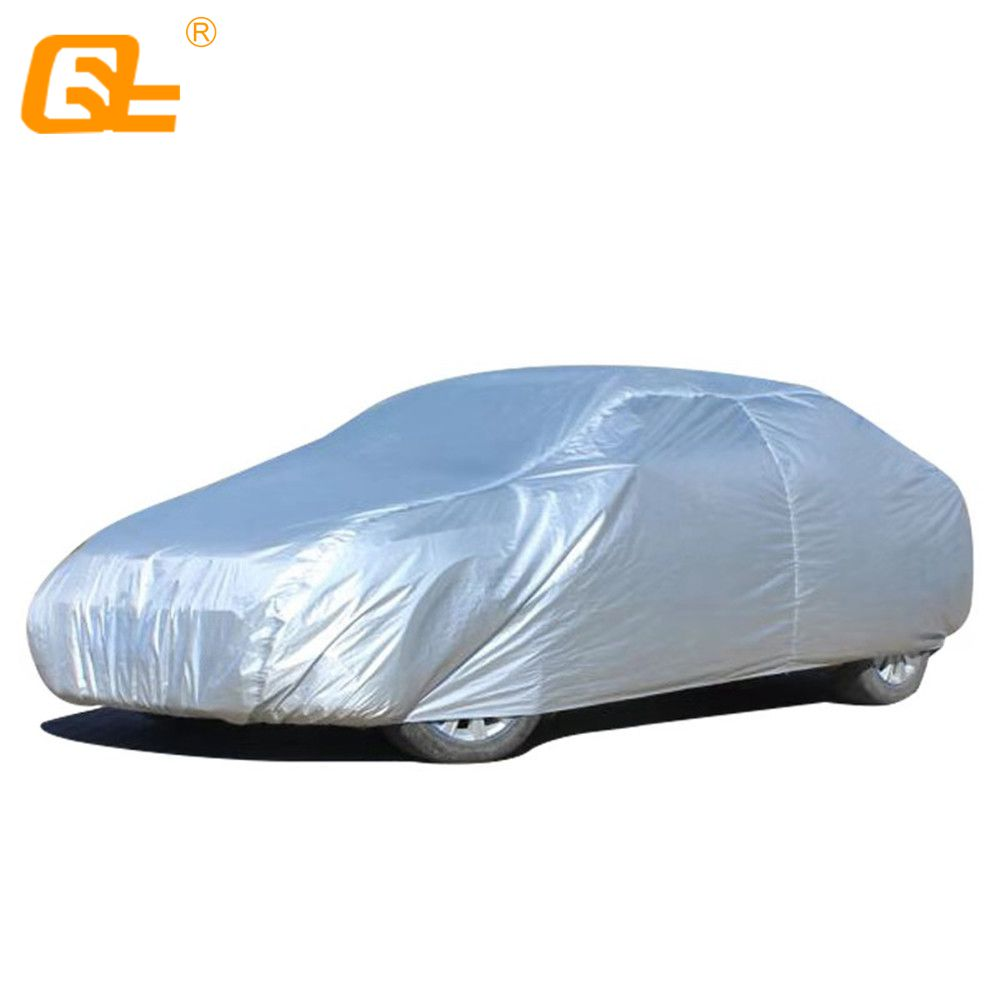 Thick Car Cover Waterproof Dust Resistant UV Sun Protection Outdoor All Sedan