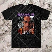 Malcom x malcolm x hiphop rnb rapper camiseta