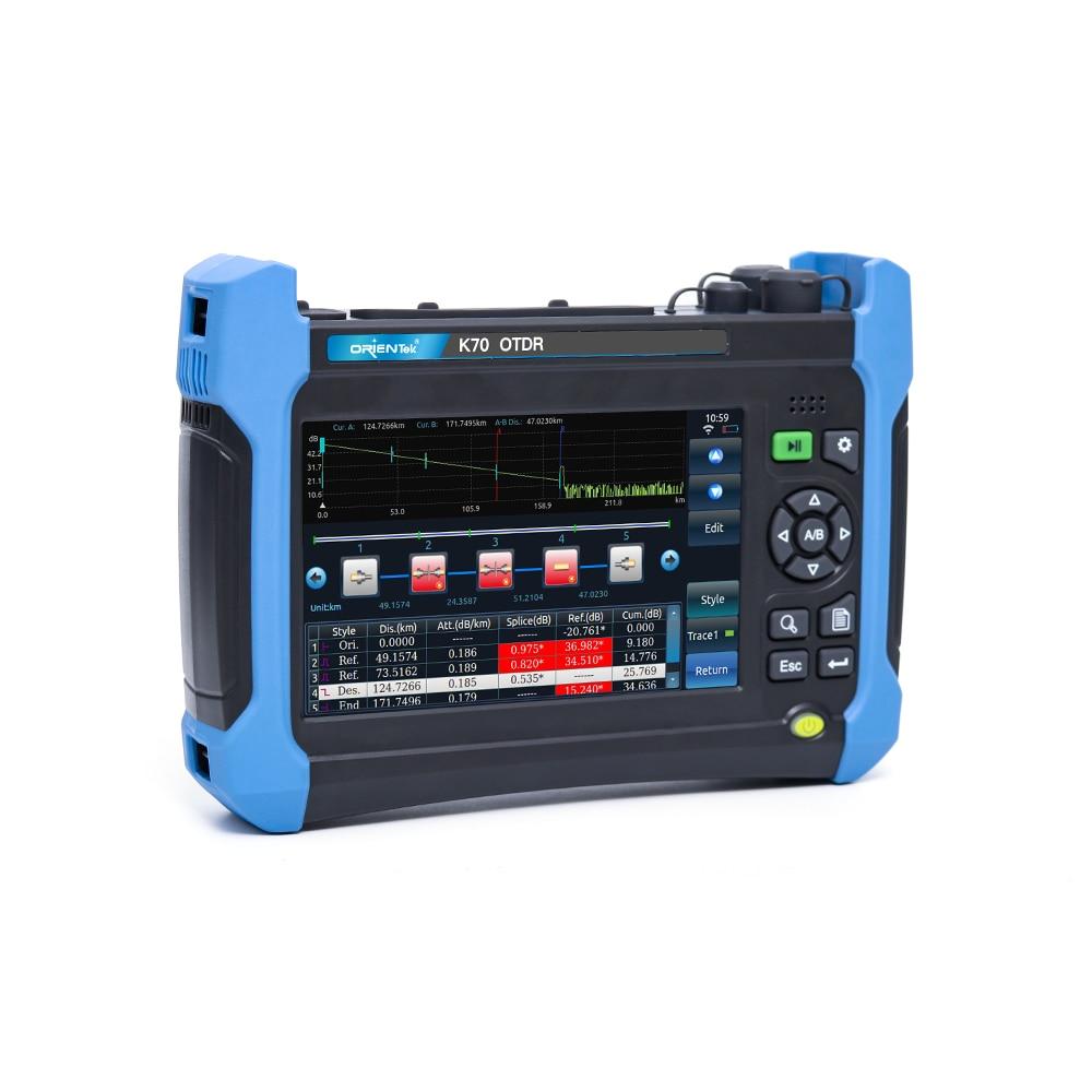 OTDR SM OTDR Orientek K70 1625 PON OTDR Singlemode OTDR & Multimode OTDR