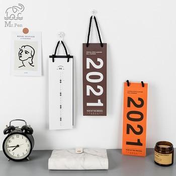 New 2021 Lanyard Wall Calendar 365days Planner Agenda Organizer Home Office Hanging Wall Calendar Daily Schedule Memo Planner 1