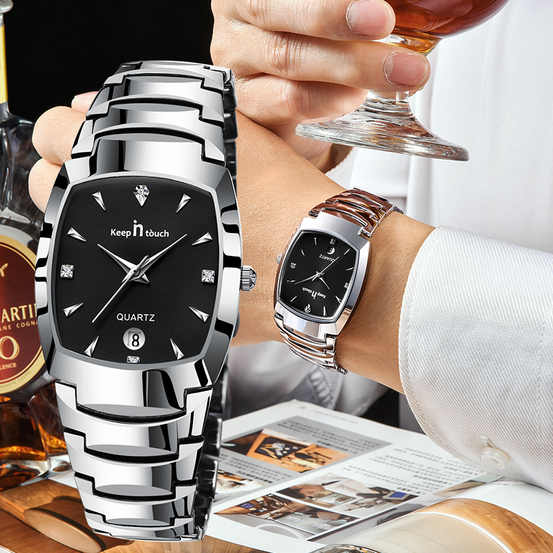 Модные мужские часы Топ бренд класса люкс водонепроницаемые японские кварцевые часы мужские деловые Часы montre homme reloj hombre # мужские часы