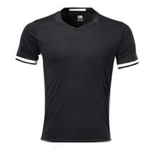 Мужская Черная Спортивная футболка с коротким рукавом, Спортивная футболка для взрослых, Мужская футболка для бега с логотипом «сделай сам»