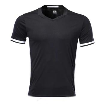Męska koszulka z krótkim rękawem czarna koszulka sportowa dla dorosłych koszulka sportowa męska koszulka do biegania DIY nazwa logo na zamówienie tanie i dobre opinie NoEnName_Null Pasuje prawda na wymiar weź swój normalny rozmiar Oddychająca