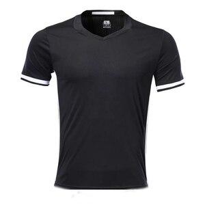 men short sleeve black sport T shirt adult sport jersey man running shirt DIY name customized logo(China)