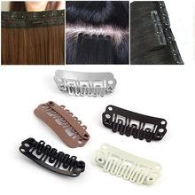 10/20/50 Pcs Hot Forma de U Perucas Snap Clips Extensões de Cabelo Ferramentas de Metal Mulheres Beauty Hair Styling Accessises Grampos De Ferro Novo