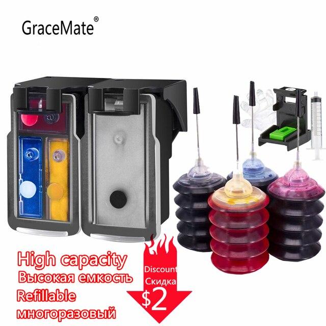 PG245 CL246 خراطيش إعادة الملء استبدال لكانون PG 245 PG 245 CL 246 ل Pixma iP2820 MX492 MG2924 MX492 MG2520 طابعة