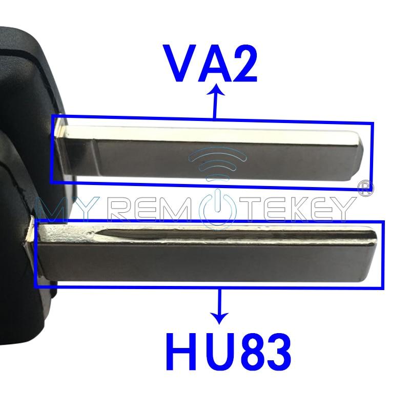CE0536 MODEL 207 307 308 avtomobil Peugeot citroen remtekey üçün - Avtomobil ehtiyat hissələri - Fotoqrafiya 3