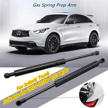 2Pcs Car Tail Box Lifting Pillar Trunk Gas Spring Lift Supports Struts Shocks for Infiniti Q50 2014 2018